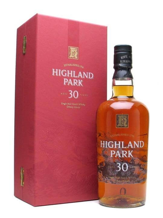Highland Park 30 Year Old / Bot.1990s Island Single Malt Scotch Whisky