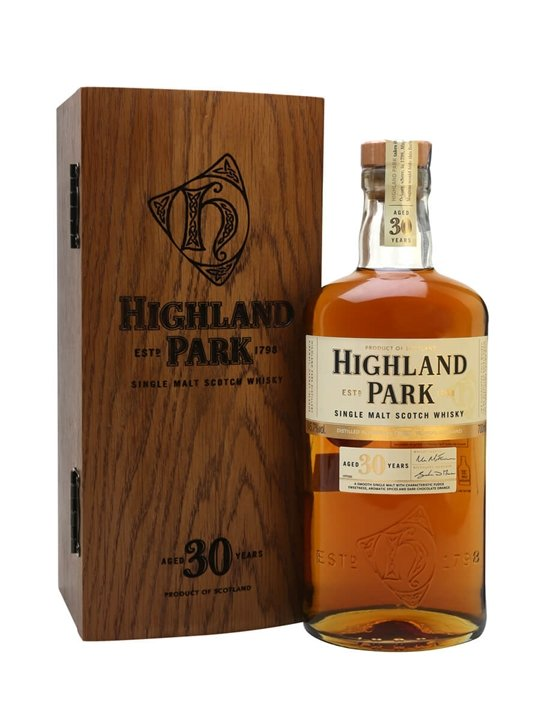 Highland Park 30 Year Old Island Single Malt Scotch Whisky