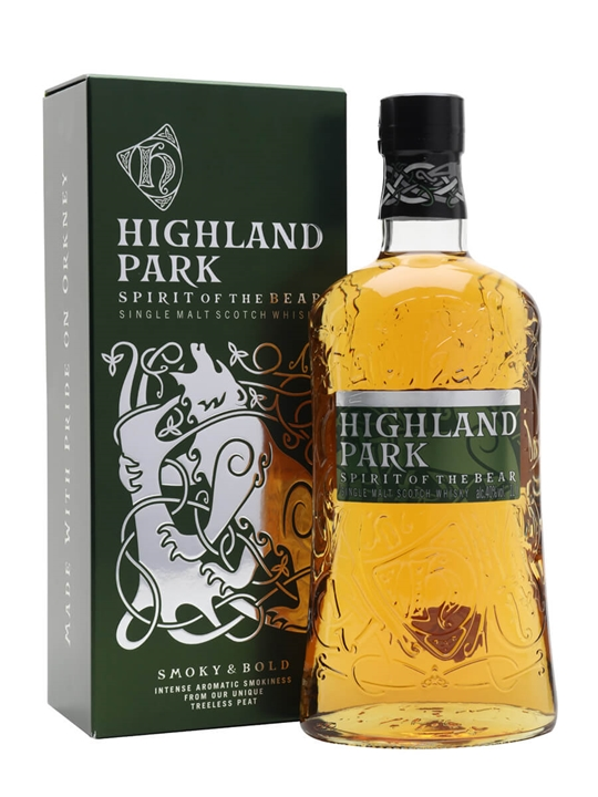 Highland Park Spirit of the Bear Island Single Malt Scotch Whisky