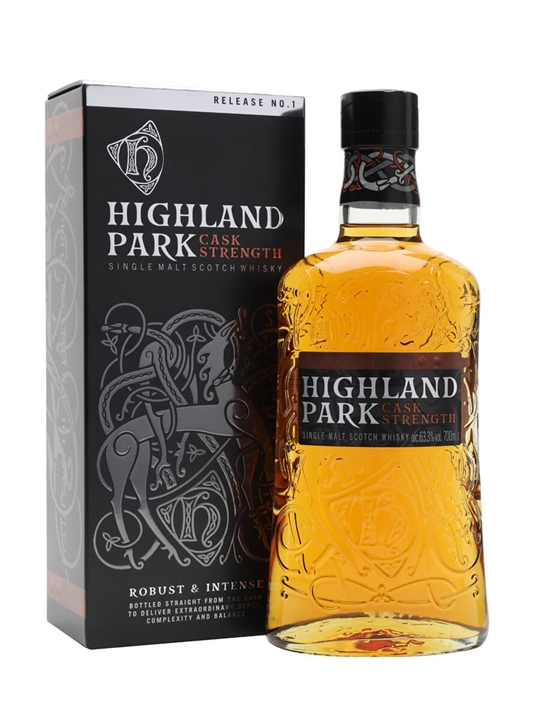 Highland Park Cask Strength / Release No.1 Island Whisky