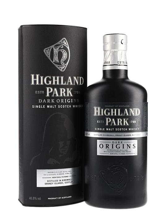 Highland Park Dark Origins Island Single Malt Scotch Whisky