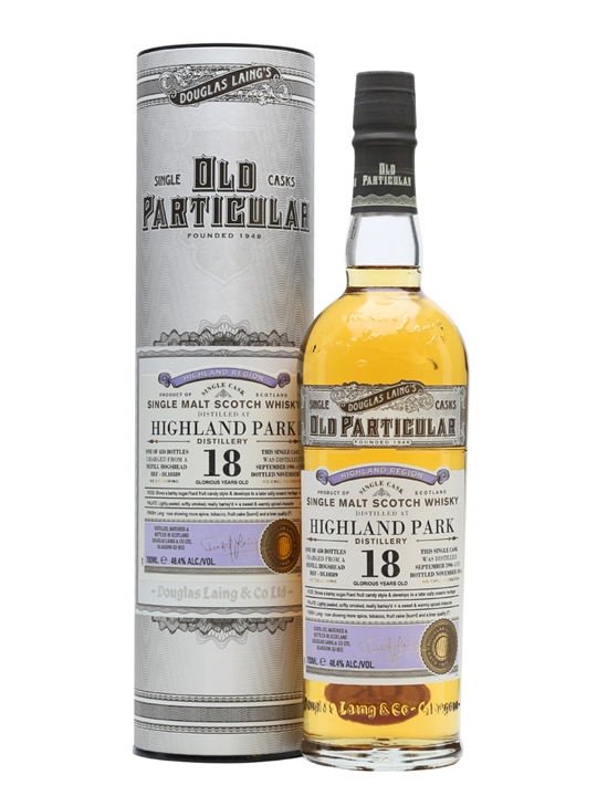 Highland Park 1996 / 18 Year Old / #DL10589 / Old Particular Island Whisky