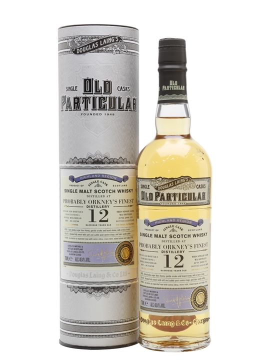 Orkney's Finest 2008 / 12 Year Old / Old Particular Island Whisky