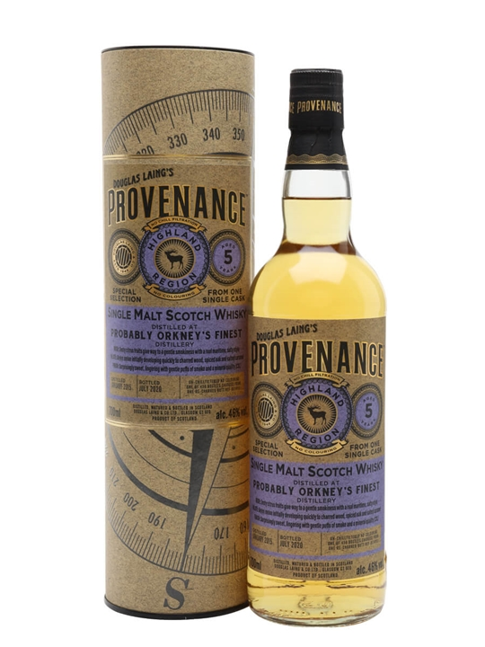 Orkneys Finest 2015 / 5 Year Old / Provenance Island Whisky