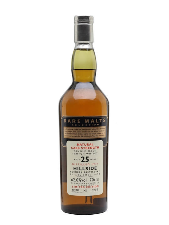 Hillside 1971 / 25 Year Old / Rare Malts Highland Whisky