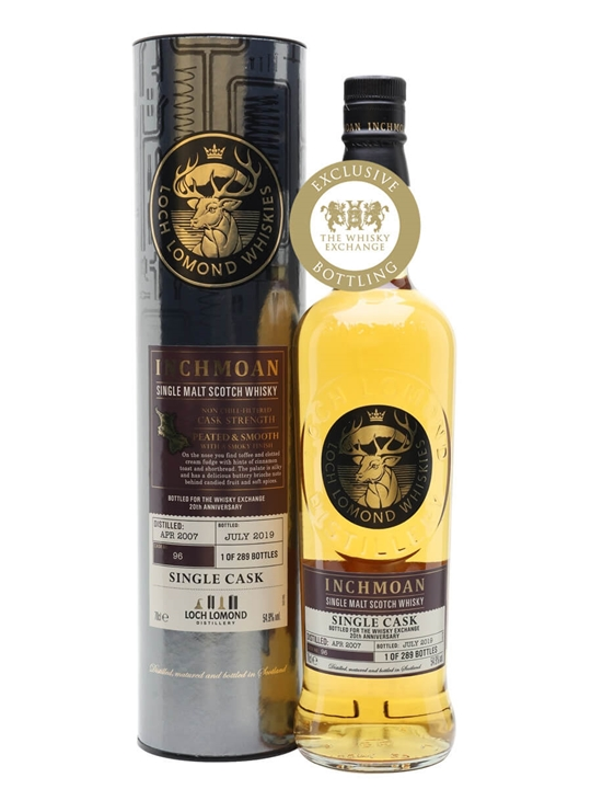 Inchmoan 2007 / 12 Year Old / Exclusive to The Whisky Exchange Highland Whisky