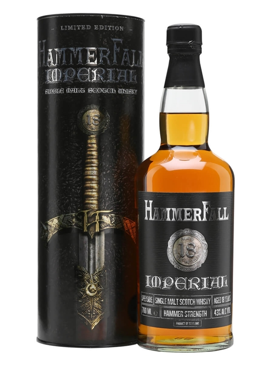 Hammerfall Imperial 18 Year Old Speyside Single Malt Scotch Whisky