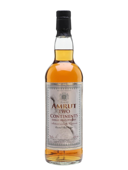 Amrut Two Continents / 3rd Edition Indian Single Malt Whisky