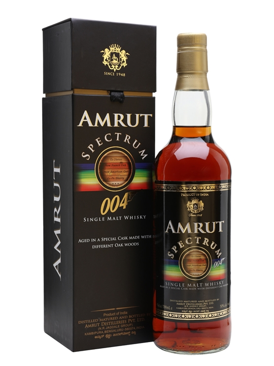 Amrut Spectrum 004 Indian Single Malt Whisky
