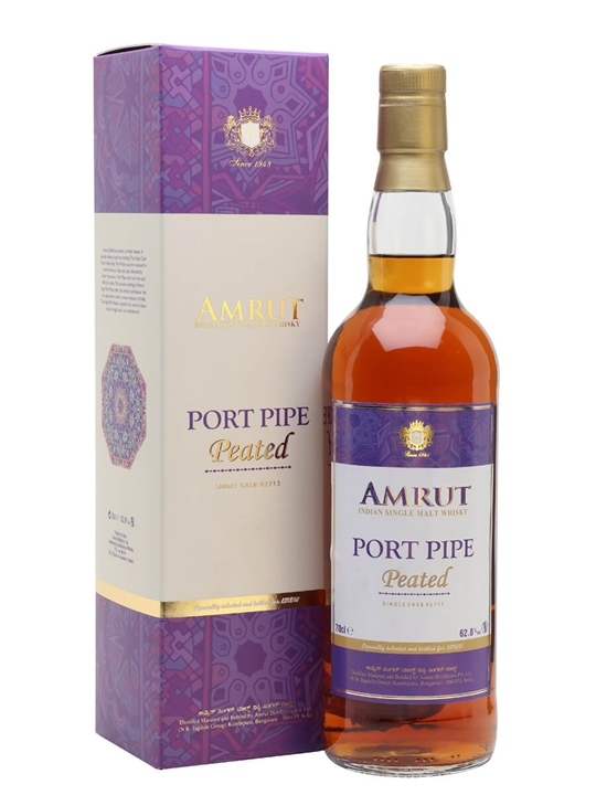 Amrut Peated Port Pipe / LMDW Exclusive Indian Single Malt Whisky