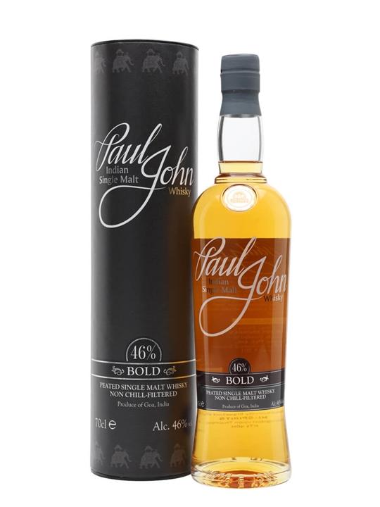 Paul John Bold / Peated Indian Single Malt Whisky