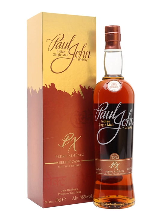 Paul John Pedro Ximenez Select Cask Single Malt Indian Whisky