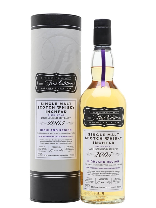 Inchfad 2005 / 14 Year Old / First Editions Highland Whisky