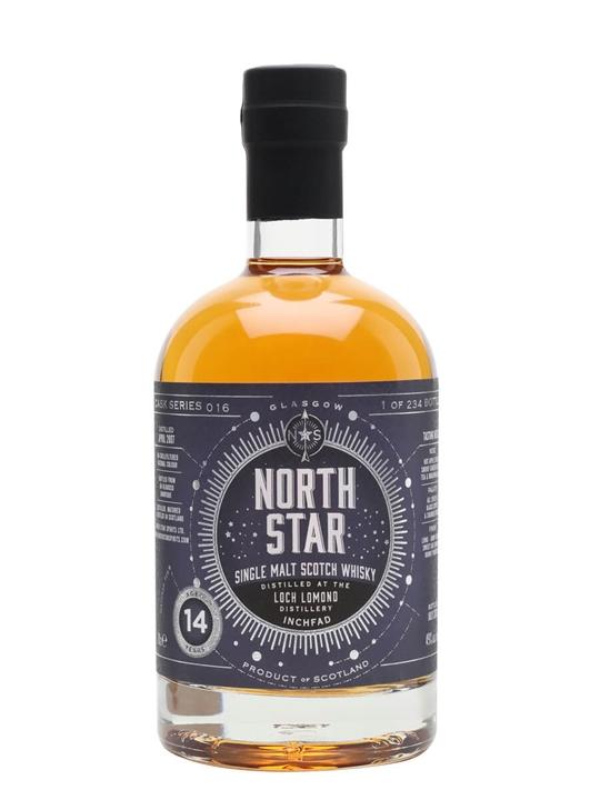 Inchfad 2007 / 14 Year Old / North Star Series 016 Highland Whisky