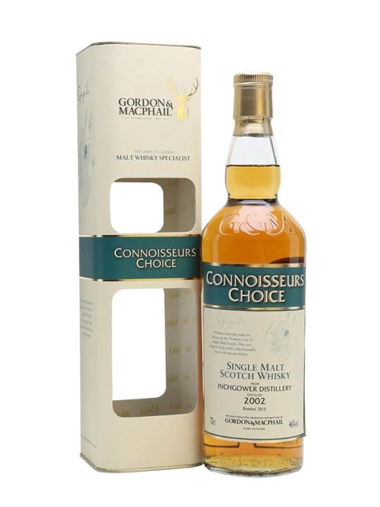 Inchgower 2002 / Connoisseurs Choice Speyside Whisky
