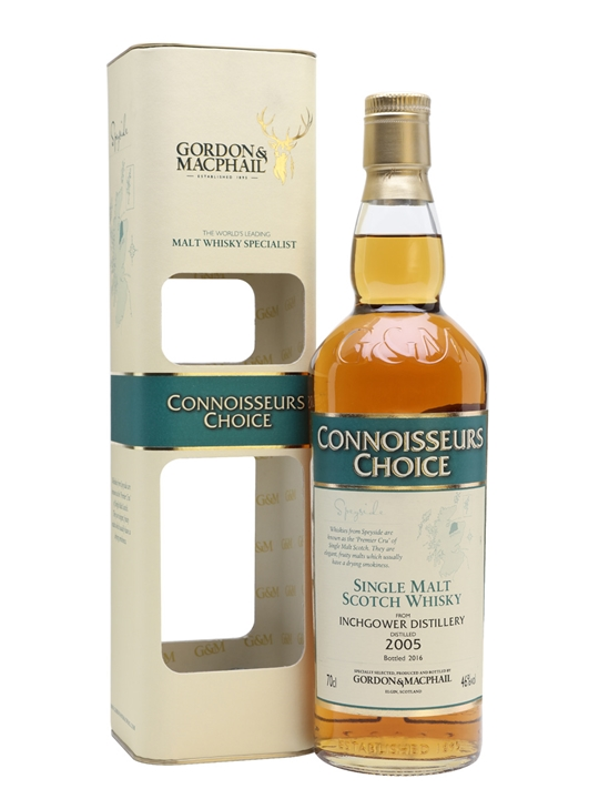 Inchgower 2005 / Bot.2016 / Connoisseurs Choice Speyside Whisky