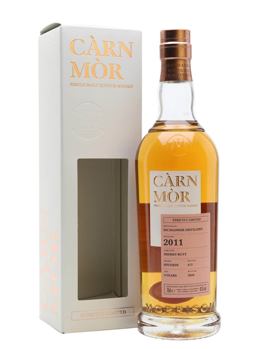 Inchgower 2011 / Carn Mor Strictly Limited Speyside Whisky
