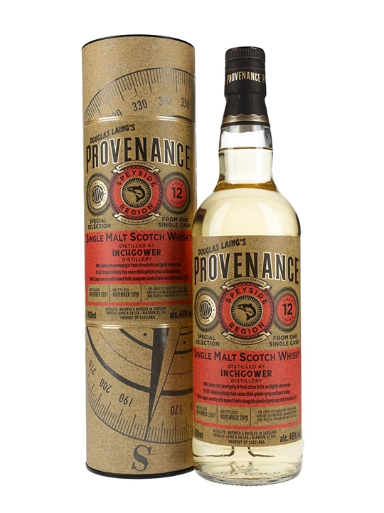 Inchgower 2007 / 12 Year Old / Provenance Speyside Whisky