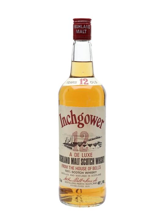 Inchgower 12 Year Old / Bot.1980s Speyside Single Malt Scotch Whisky