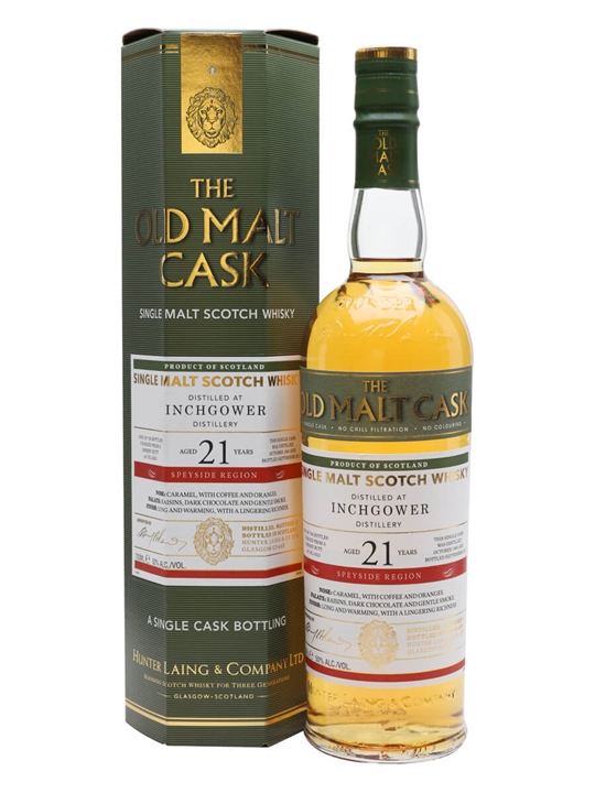 Inchgower 1995 / 21 Year Old / Old Malt Cask Speyside Whisky
