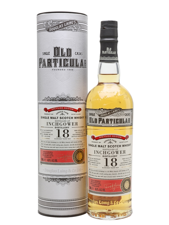 Inchgower 1998 / 18 Year Old / Old Particular Speyside Whisky