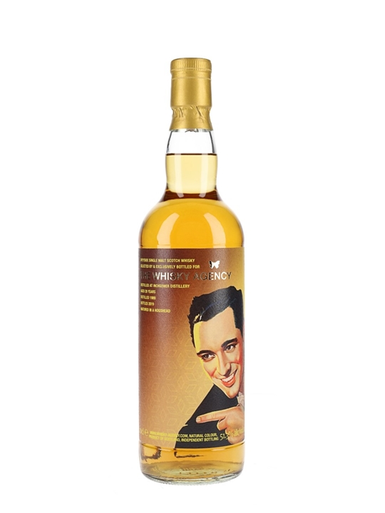 Inchgower 1989 / 29 Year Old / The Whisky Agency Speyside Whisky