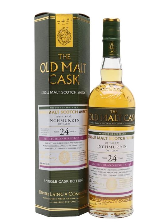 Inchmurrin 1996 / 24 Year Old / Old Malt Cask Highland Whisky