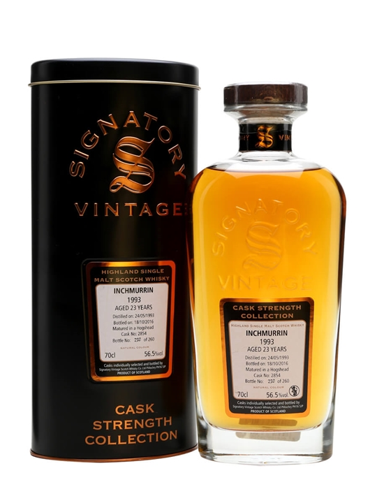 Inchmurrin 1993 / 23 Year Old / Cask #2854 / Signatory Highland Whisky