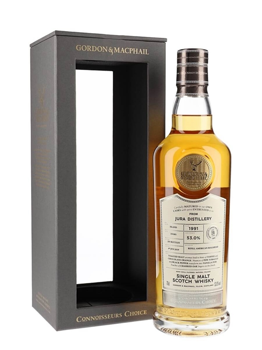 Isle of Jura 1991 / 28 Year Old / Connoisseurs Choice Island Whisky