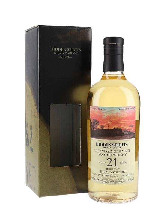 Jura 1998 / 21 Year Old / Hidden Spirits Island Whisky