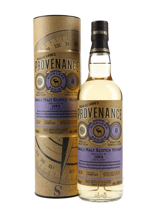 Jura 2011 / 8 Year Old / Provenance Island Single Malt Scotch Whisky