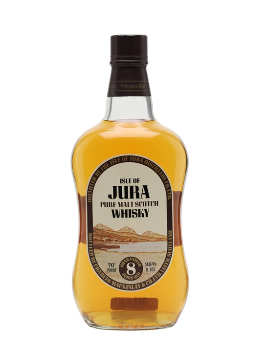 Isle of Jura 8 Year Old / Bot.1980s Island Single Malt Scotch Whisky