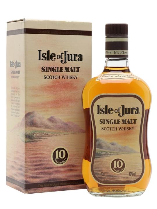 Isle Of Jura 10 Year Old / Bot.1980s Island Single Malt Scotch Whisky