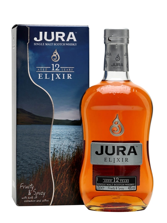 Isle Of Jura 12 Year Old / Elixir Island Single Malt Scotch Whisky