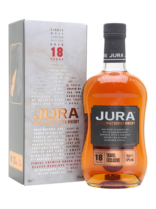 Jura 18 Year Old / Bordeaux Cask Island Single Malt Scotch Whisky