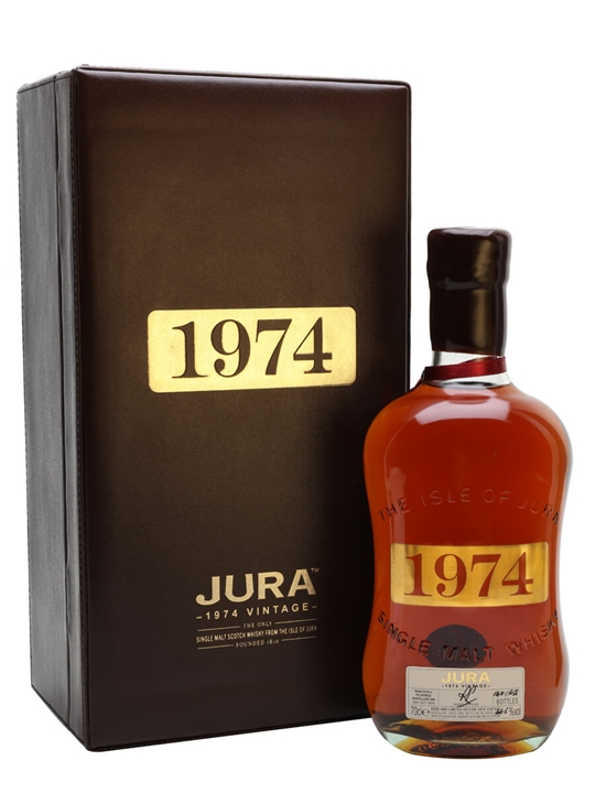 Isle Of Jura 1974 / 30 Year Old Island Single Malt Scotch Whisky