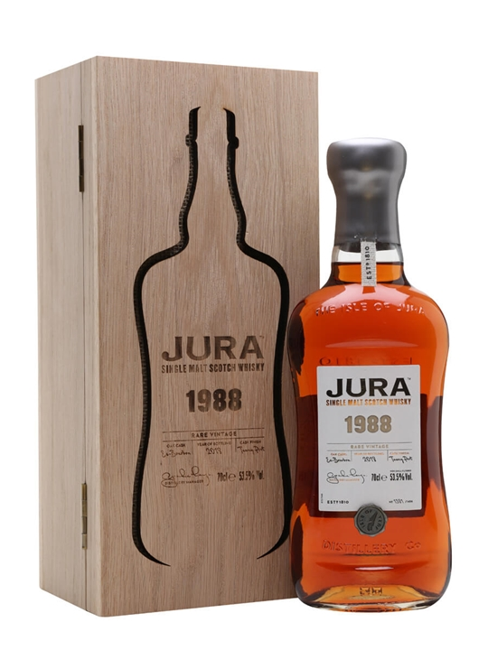 Jura 1988 Vintage Series / Tawny Port Finish Island Whisky