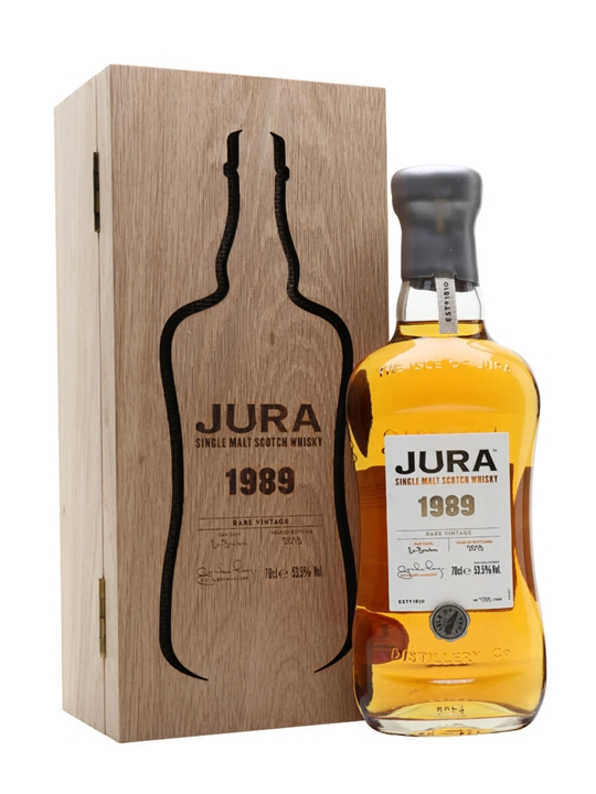 Jura 1989 Rare Vintage Island Single Malt Scotch Whisky