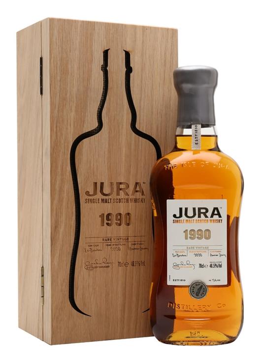 Jura 1990 / Sherry Cask Finish Island Single Malt Scotch Whisky