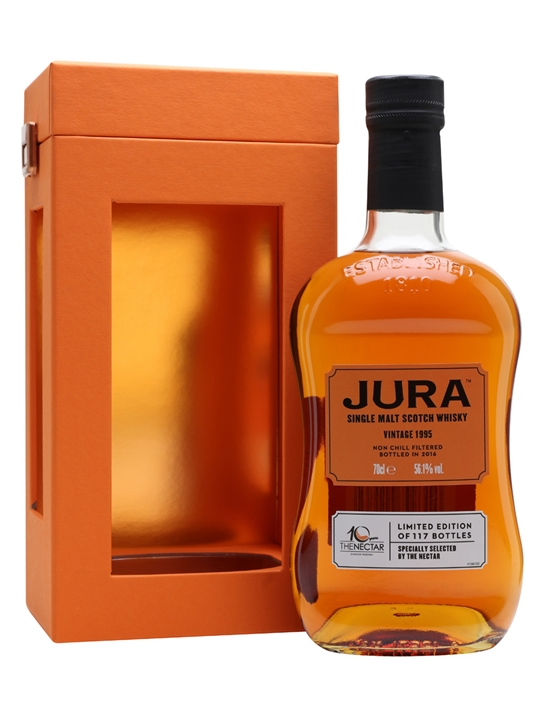 Jura 1995 / Single Cask For The Nectar Island Whisky