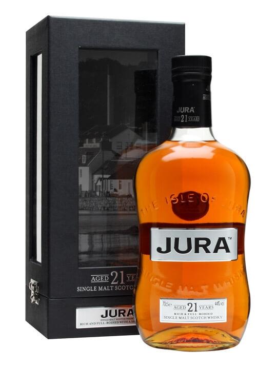 Jura 21 Year Old Island Single Malt Scotch Whisky