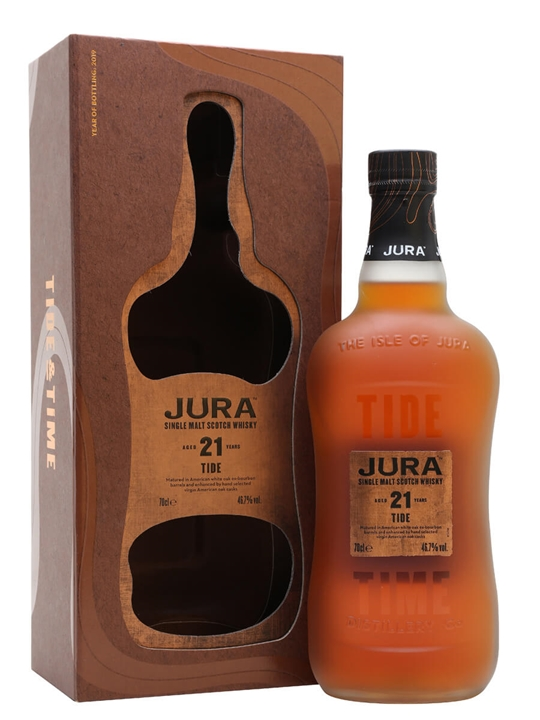 Jura 21 Year Old / Tide Island Single Malt Scotch Whisky