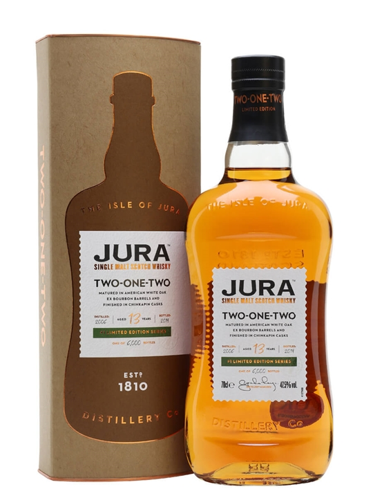 Jura Two-One-Two 2006 / 13 Year Old Island Single Malt Scotch Whisky