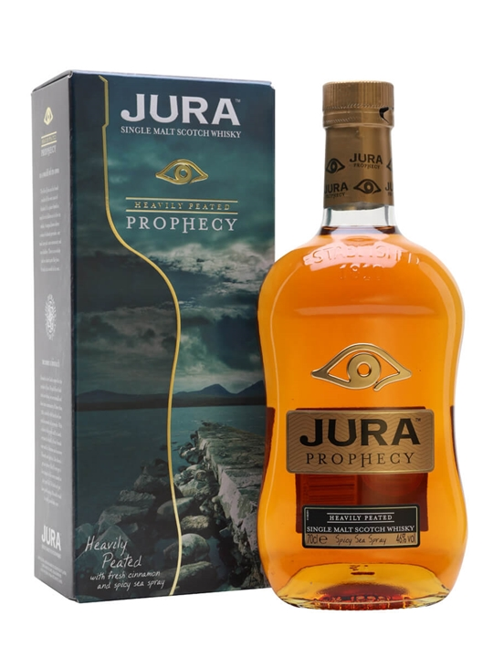 Isle Of Jura Prophecy / Peated Island Single Malt Scotch Whisky