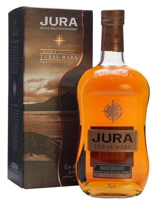 Isle Of Jura Turas Mara / Litre Island Single Malt Scotch Whisky
