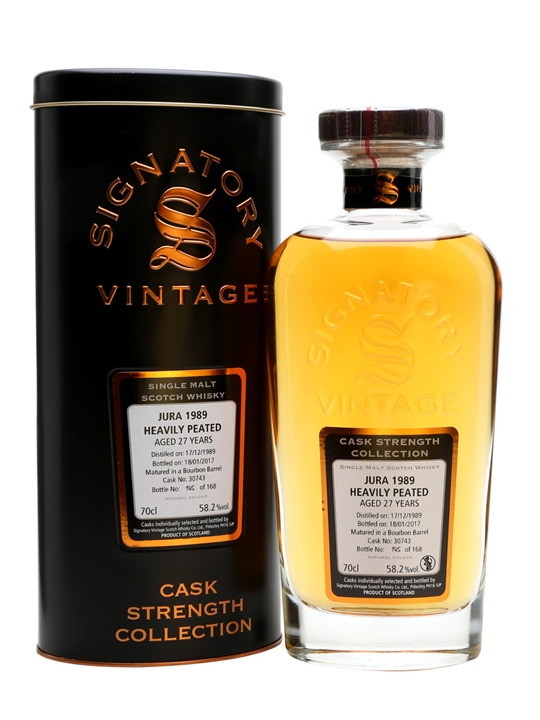 Isle Of Jura 1989 / 27 Year Old / Cask #30743 / Signatory Island Whisky