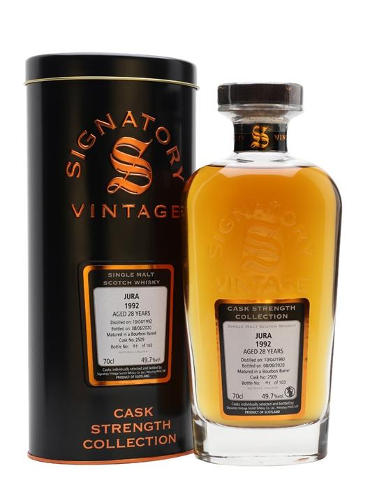 Isle Of Jura 1992 / 28 Year Old / Signatory Island Whisky