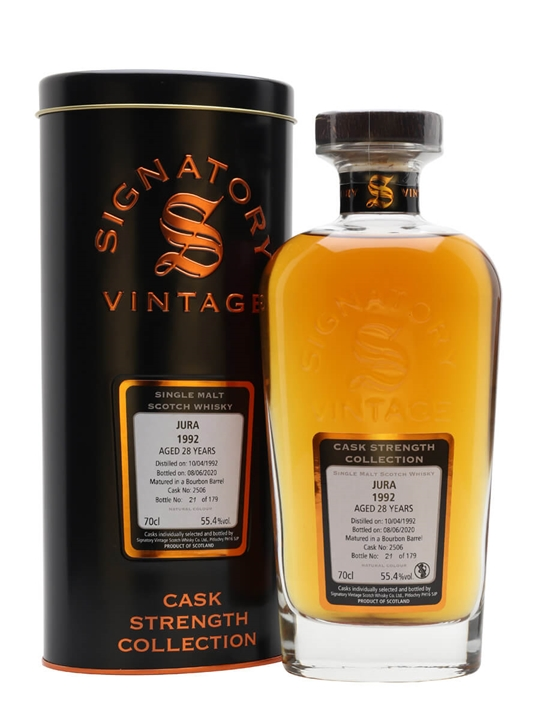 Jura 1992 / 28 Year Old / Signatory Island Single Malt Scotch Whisky