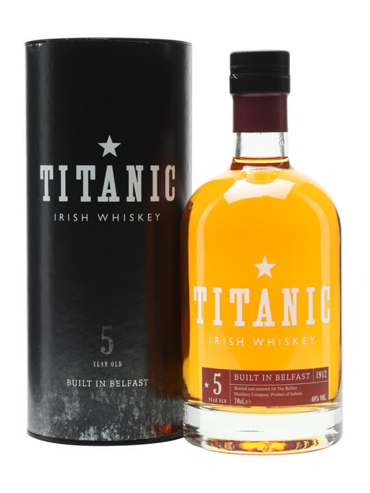 Titanic Blend 5 Year Old / Belfast Distillery Blended Irish Whiskey