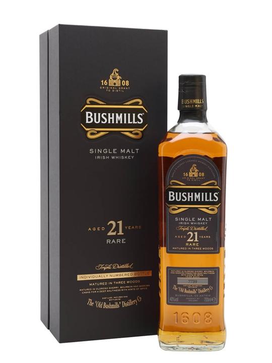 Bushmills 21 Year Old / Madeira Finish Irish Single Malt Whiskey